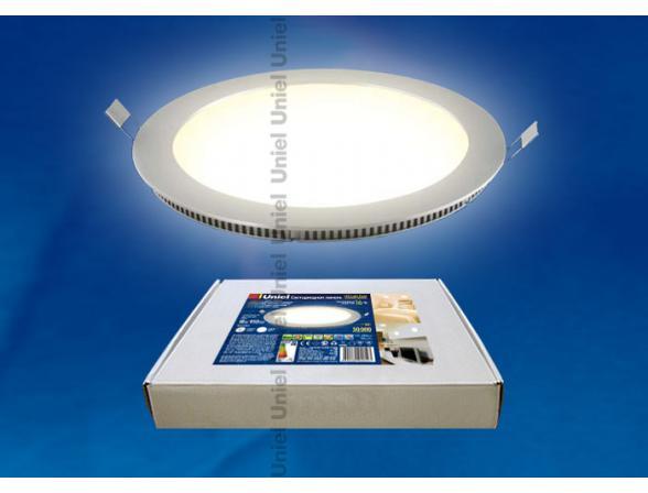 Светильник встраиваемый Uniel ULP-R240-18/WW WHITE