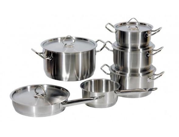 Набор посуды Regent Inox MASTER eco vitro 93-MEv12