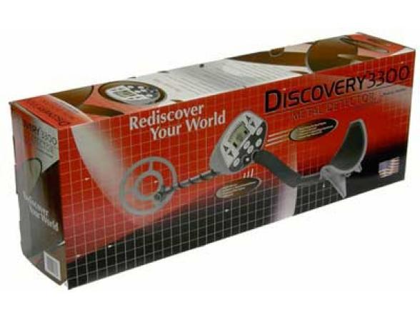 Металлоискатель Bounty Hunter Discovery 3300