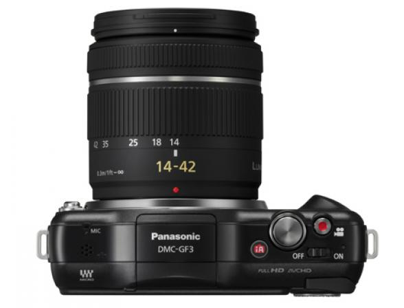 Цифровой фотоаппарат Panasonic Lumix DMC-GF3K