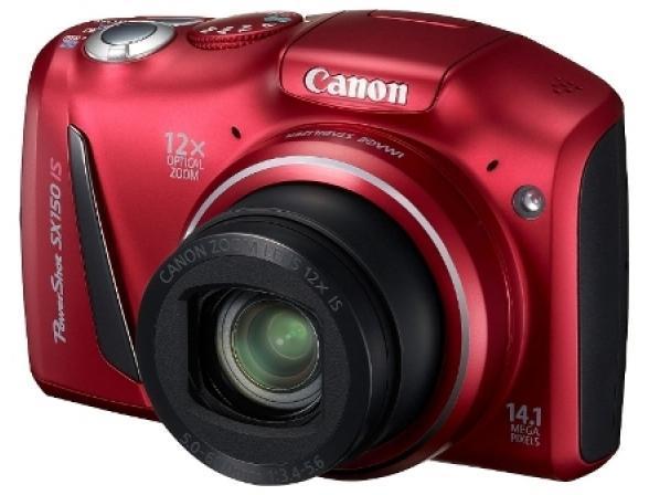 Цифровой фотоаппарат Canon PowerShot SX150 IS