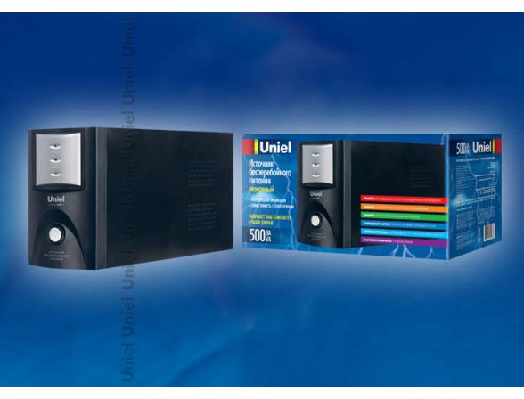 Источник бесперебойного питания Uniel U-RUPS-500VA