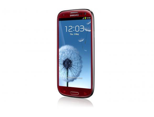 Смартфон Samsung Galaxy S III 16Gb Red