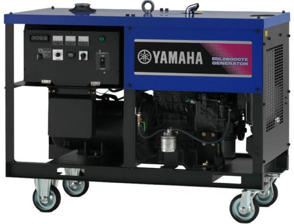 Бензогенератор Yamaha EDL26000TE