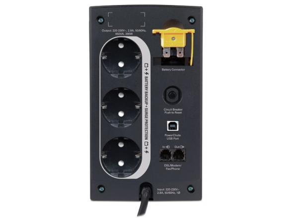 Источник бесперебойного питания APC BACK-UPS RS 650VA 230V, IEC-320 BX650CI