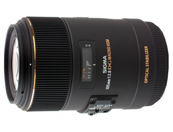 Объектив Sigma AF 105mm f/2.8 MACRO EX DG OS HSM Nikon