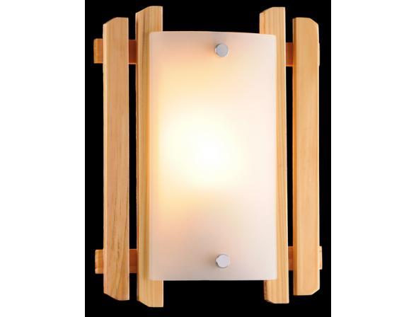 Светильник настенно-потолочный Eurosvet 2717/1 светлое дерево