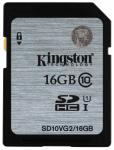 Флэш память Kingston 16 Gb SDHC Card Class 10 UHS-I Gen.2