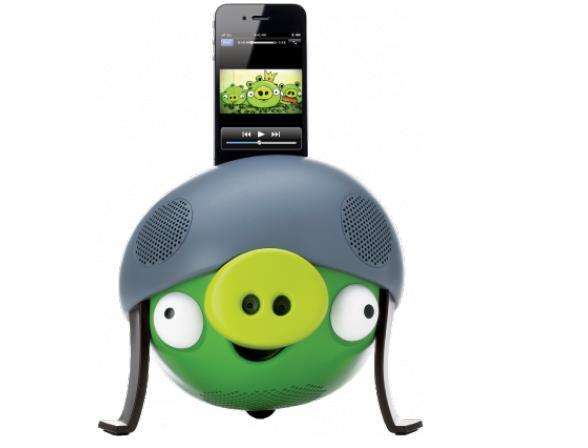Минисистема Gear4 PROJECT Angry Birds Speaker Pig