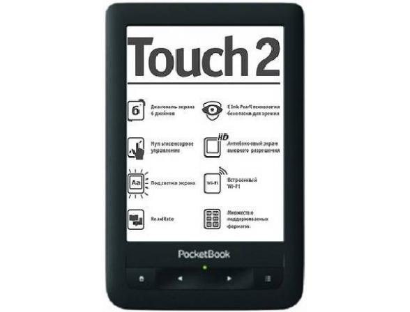 Электронная книга PocketBook Touch 2 (623)