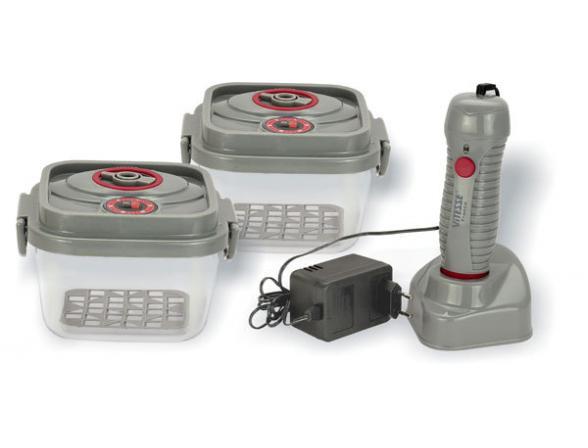 Набор профессиональных вакуумных контейнеров Vitesse aura VS-1842