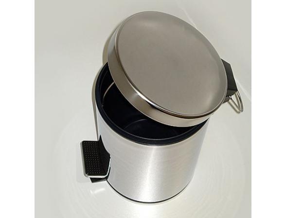 Ведро для мусора с педалью WasserKRAFT К-635 5 л