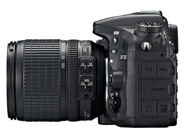 Зеркальный фотоаппарат Nikon D7100 Kit 18-105 VR