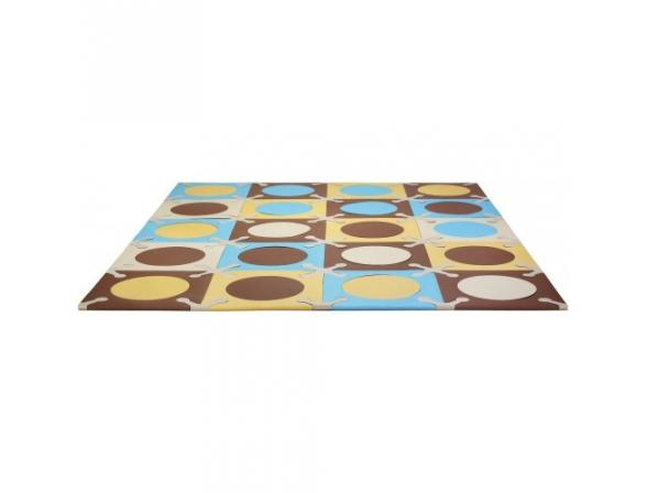 Мягкий напольный игровой коврик-пазл 20 плиток Skip Hop Playspot