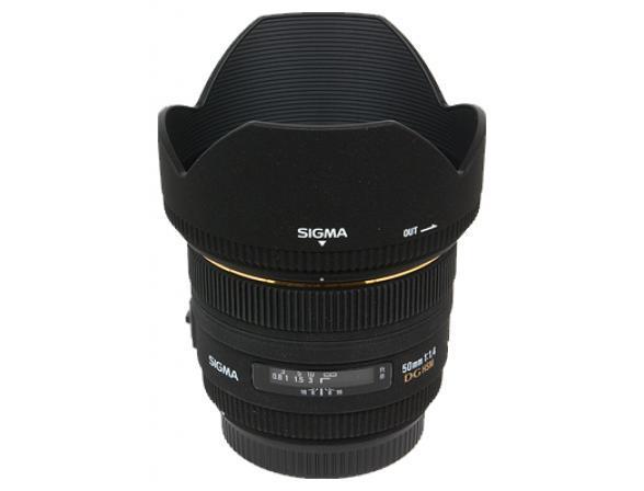 Объектив Sigma AF 50mm F/1.4 EX DG HSM NIKON