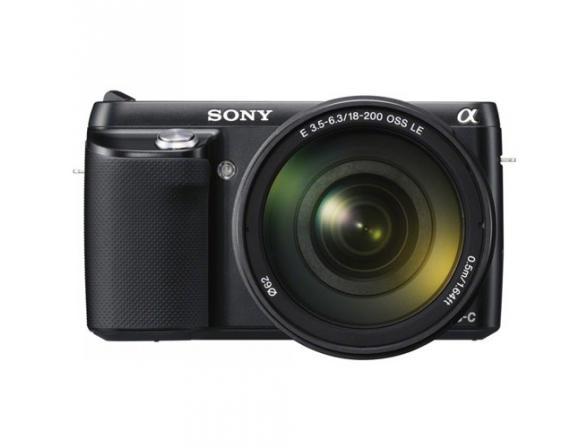 Цифровой фотоаппарат Sony Alpha NEX-F3Y Kit 18-55 + 55-210 black