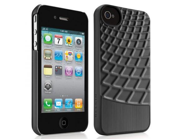 Чехол BELKIN Waffle для iPhone 4S черный