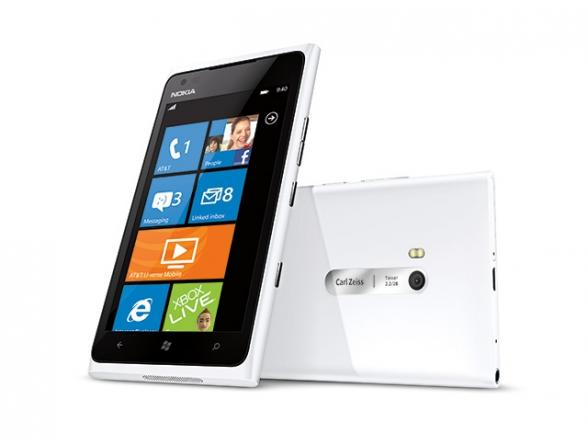 Смартфон Nokia Lumia 820 White