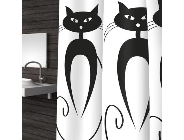 Штора для ванной Bacchetta 180х200 Cats