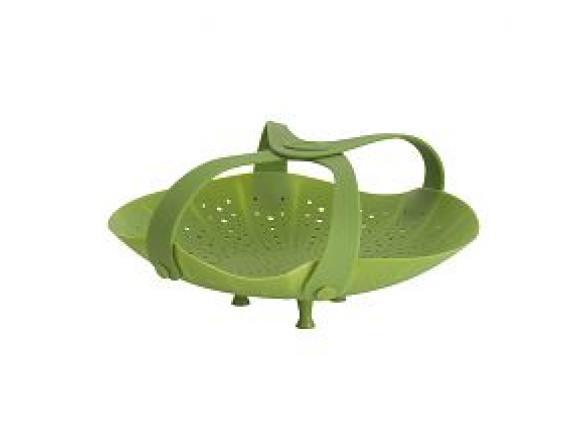 Подставка-пароварка силиконовая для овощей Trudeau 998004