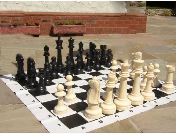 Садовые шахматы Garden Games Большие 049