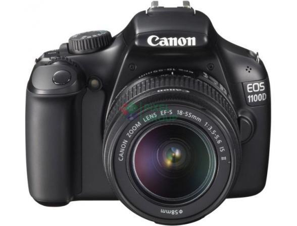 Зеркальный фотоаппарат Canon EOS 1100D Kit 18-55 IS II