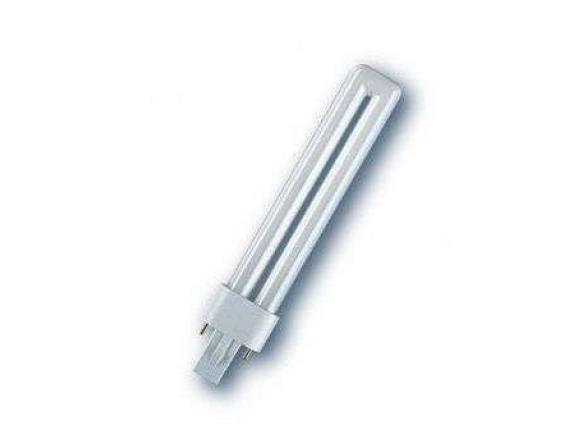 Компактная люминисцентная лампа OSRAM 010588 DULUX S 9W/840 G23 Germany