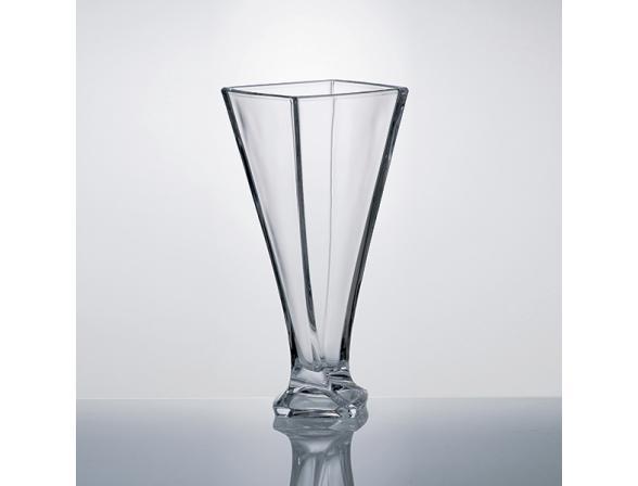 Ваза Crystalite Bohemia Квадро 28 см /99A44/