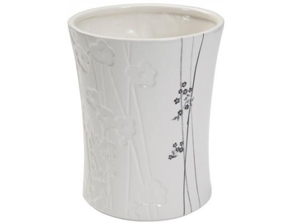 Корзина для мусора Creative Bath Blossoms BLS54WH*