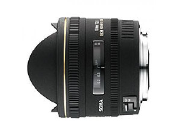 Объектив Sigma AF 10mm f/2.8 EX DC HSM Fisheye NIKON