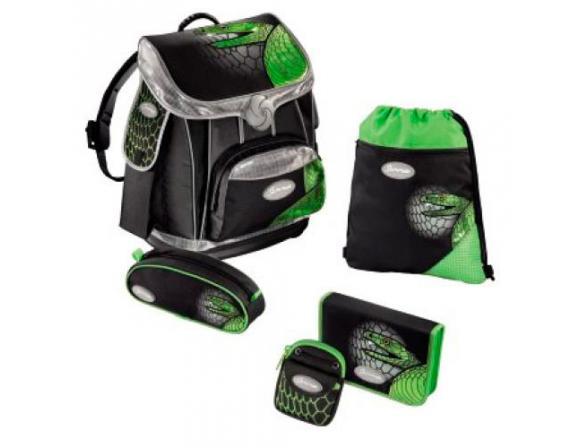 Ранец школьный Samsonite Green Mamba PREMIUM зеленый/черный