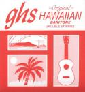 Струны для укулеле баритон GHS strings 100