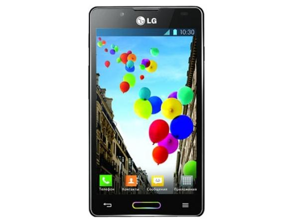 Смартфон LG Optimus L7 II P710 Black