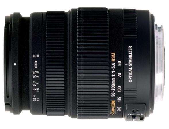Объектив _Sigma AF 50-200mm f/4-5.6 DC OS HSM Nikon F*