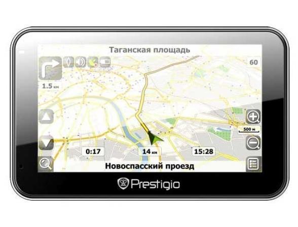 GPS-навигатор Prestigio GeoVision 4500