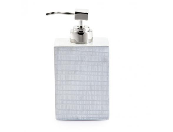 Дозатор для жидкого мыла KASSATEX Delano Silver ADL-LD-SLV