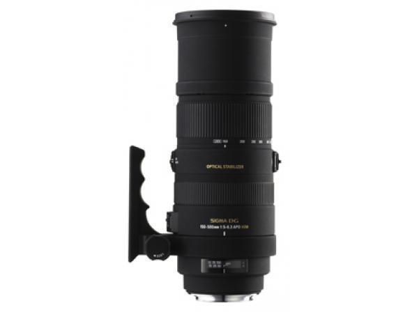 Объектив Sigma AF 150-500mm f/5-6.3 APO DG OS HSM CANON*