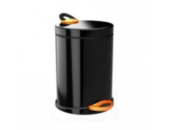 Ведро для мусора Meliconi OPERA 5л (черный/оранж)