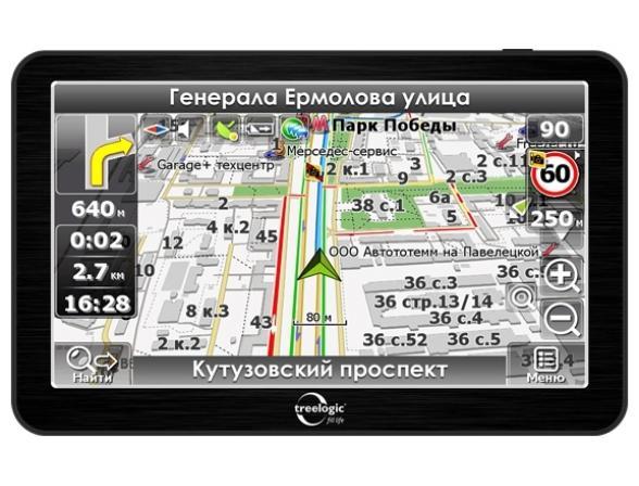 Навигатор Treelogic TL-6201BGF AV