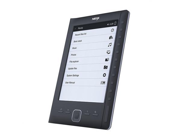 Электронная книга Nexx NIR-602DL, Black