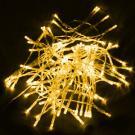 Светодиодная гирлянда Flesi 10 м, цвет желтый, прозрачный провод