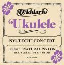 Струны для укулеле концерт D'ADDARIO Nyltech EJ88C