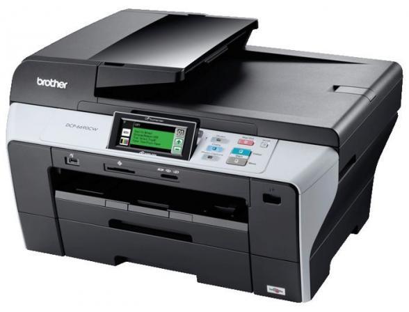 Многофункциональный аппарат Brother DCP-6690CW сетевой принтер/копир/сканер/факс А3