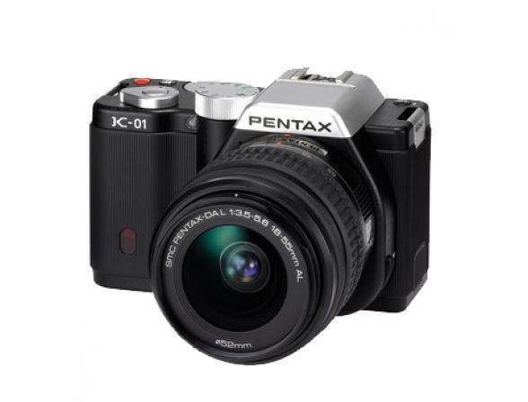 Зеркальный фотоаппарат Pentax K-01 Kit DA L 18-55