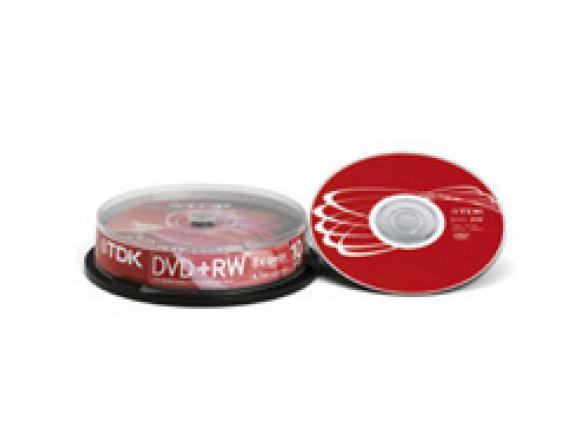 DVD+RW диск TDK 4.7 ГБ