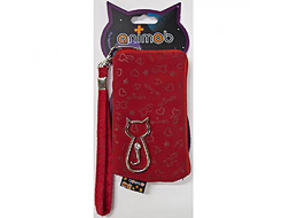 Сумка-футляр Animob универсальная, красная