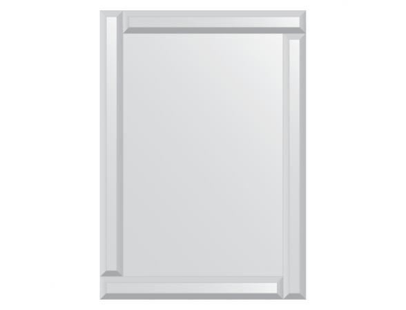 Зеркало с зеркальным обрамлением EVOFORM Style (50х70 см) BY 0802