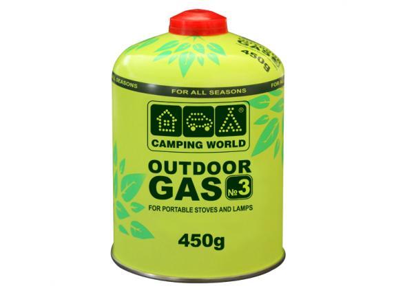 Картридж газовый Camping World 450 г