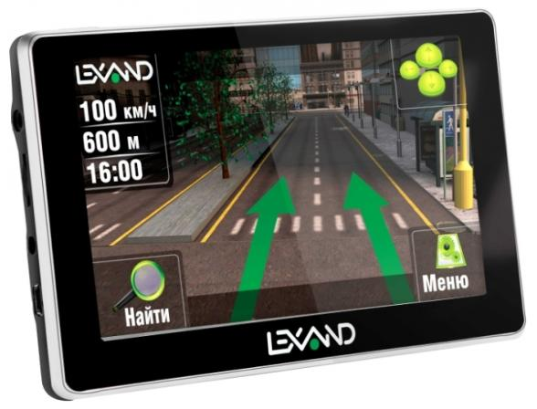 GPS-навигатор Lexand ST-565 HD
