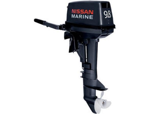 Лодочный мотор NISSAN MARINE 2-х тактный NS 9.8 B 1